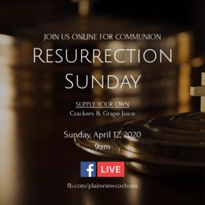 Communion Sunday (Easter)